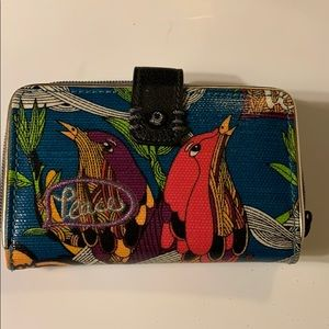 Sakroots Peace wallet.  Gently used